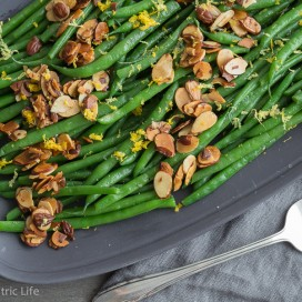 Green Beans Almondine|AFoodCentricLife.com