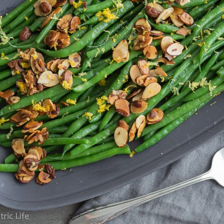 Green Beans Almondine | AFoodCentricLife.com
