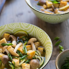 Vegetable miso soup|AFoodCentricLife.com