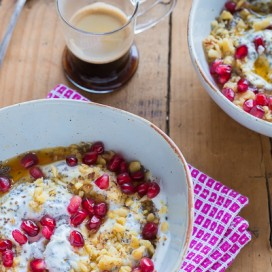 Greek Yogurt Breakfast Bowl|AFoodCentricLife.com