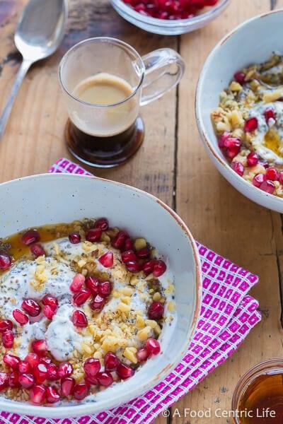 Greek Yogurt Breakfast Bowl | AFoodCentricLife.com