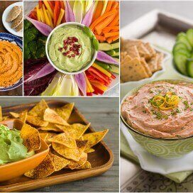 Super Bowl party dips | AFoodCentricLife.com