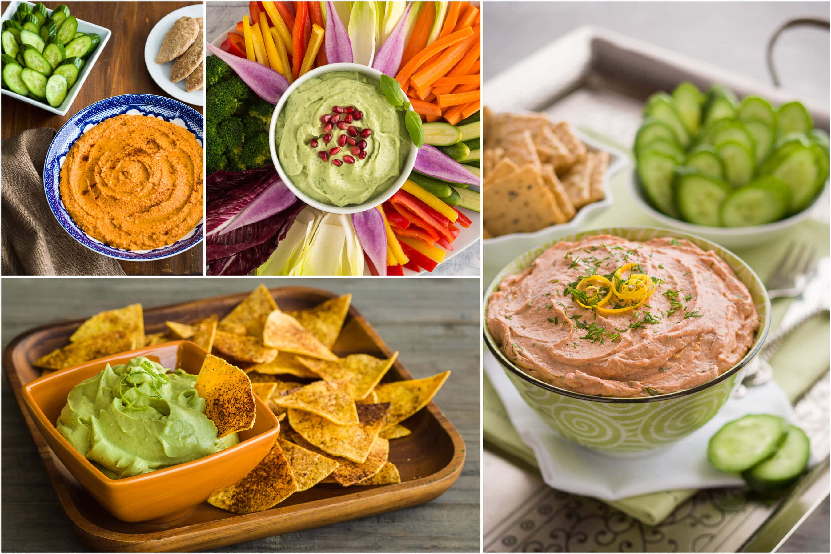healthy party dips | AFoodCentricLife.com