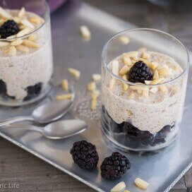chia breakfast pudding | AFoodCentricLife.com