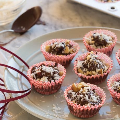 Chocolate Cranberry Bites |AFoodCentricLife.com