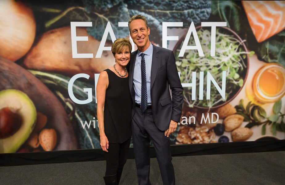 Sally Cameron with Dr. Mark Hyman|AFoodCentricLife.com