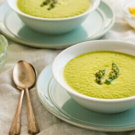 Asparagus soup | AFoodCentricLife.com