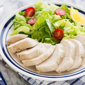 how to poach chicken breasts | AFoodCentricLife.com