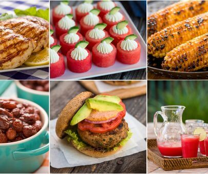 July 4th Healthy Menu Planner AFoodCentricLife.com