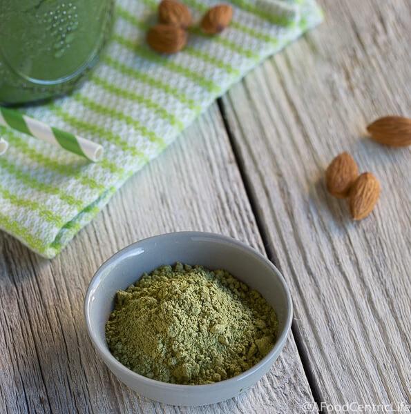matcha avocado smoothie AFoodCentricLife.com