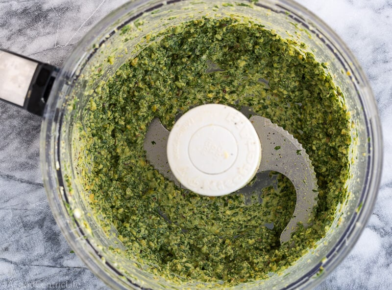 carrot top pesto | AFoodCentricLife.com
