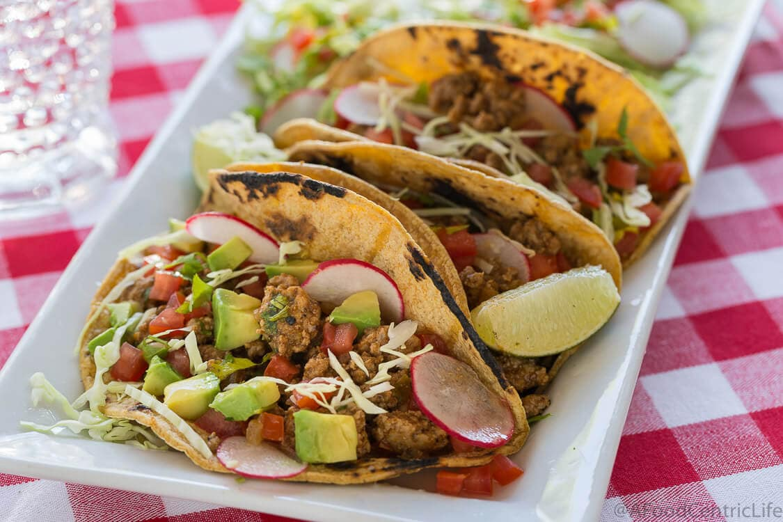 10 Minute Turkey Taco Filling | AFoodCentricLife.com