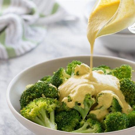vegan cheese sauce | AFoodCentricLife.com