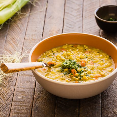 creamy corn chowder | AFoodCentricLife.com