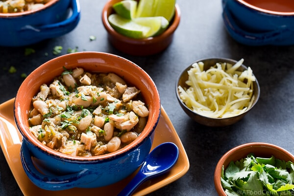 White Chicken Chili | AFoodCentricLife.com