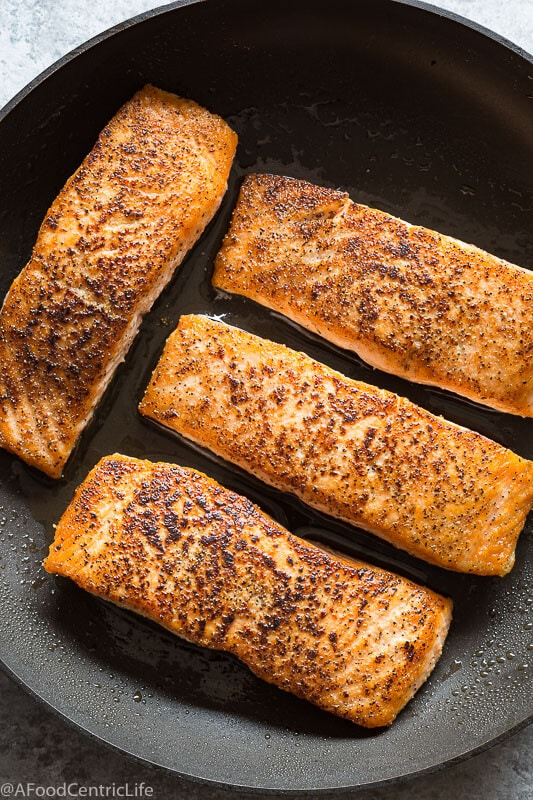 raspberry balsamic salmon | AFoodCentricLife.com