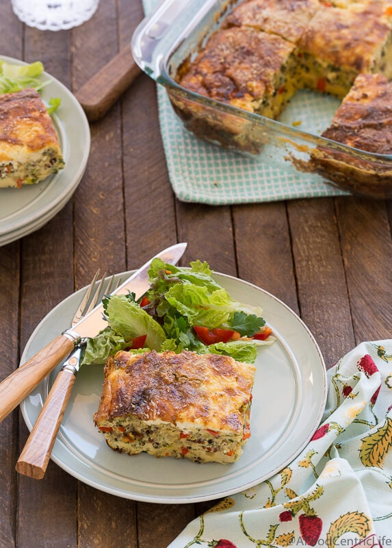 breakfast casserole | AFoodCentricLife.com
