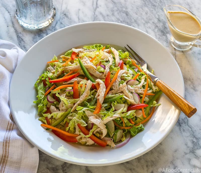 chinese chicken salad | AFoodCentricLife.com