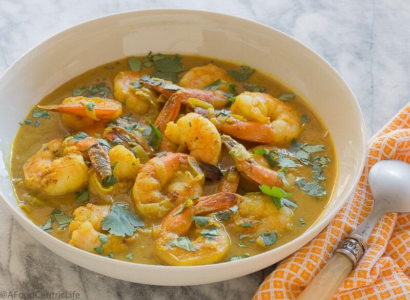 shrimp curry | AFoodCentricLife.com
