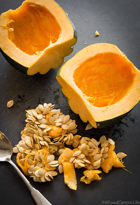 maple roasted acorn squash | AFoodCentricLife.com