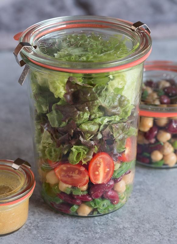 three bean salad | AFoodCentricLife.com