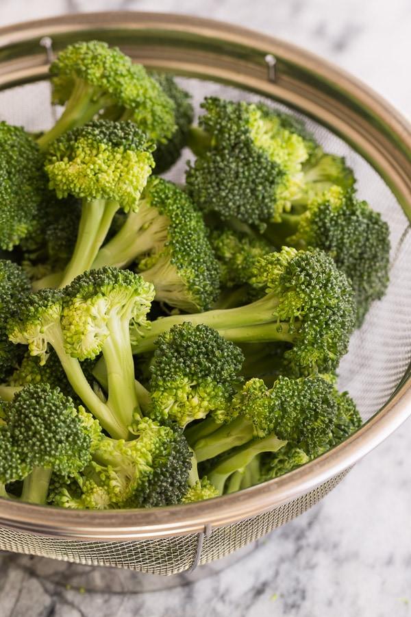 broccoli florets | AFoodCentriclIfe.com