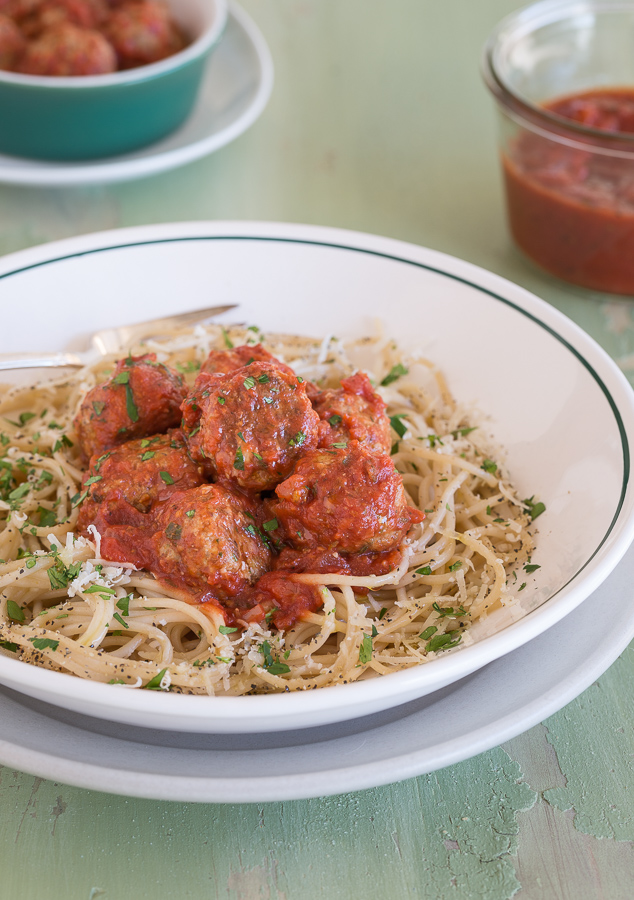grain free meatballs | AFoodCentricLife.com