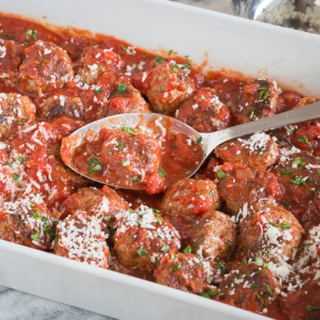 grain-free meatballs | afoodcentriclife.com