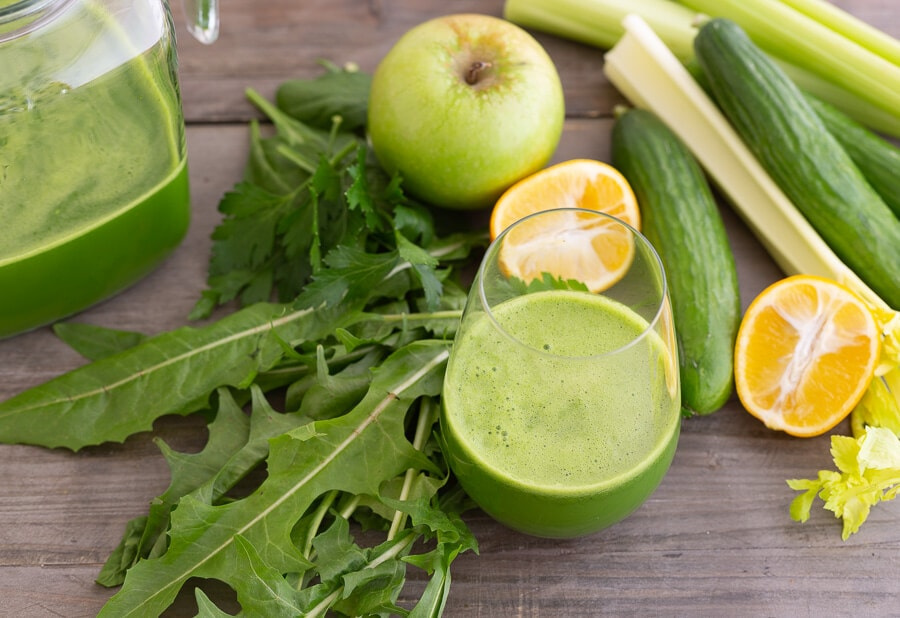 dandy detox green juice |AFoodcentricLife.com