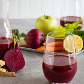 ruby root beet juice | afoodcentriclife.com