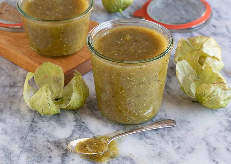 tomatillo salsa verde | afoodcentriclife.com