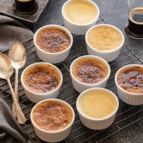 vanilla bean creme brulee | afoodcentriclife.com