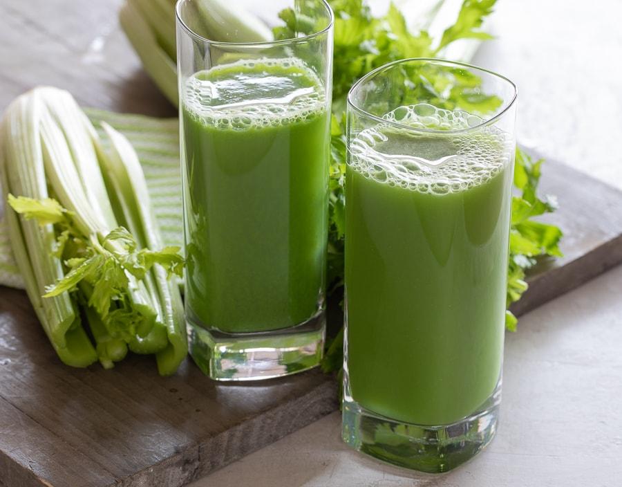 celery juice | afoodcentriclife.com
