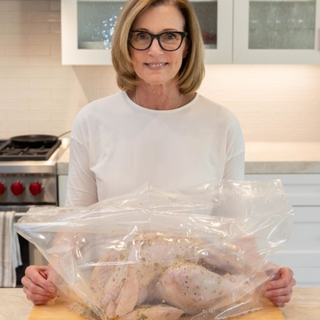 turkey in brining bag | afoodcentriclife.com