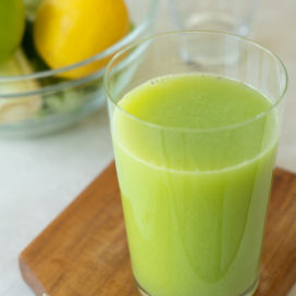 green cabbage juice | afoodcentriclife.com